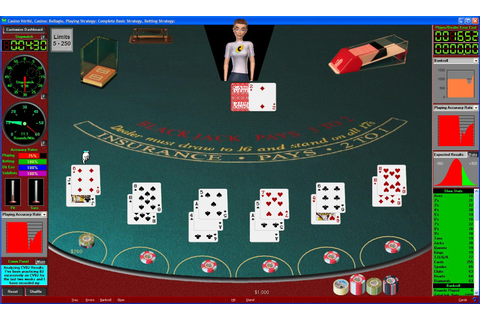 Blackjack card counting game