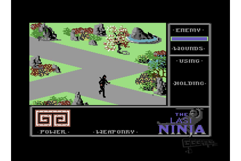 Review: The Last Ninja on Commodore 64