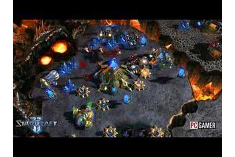 Starcraft 2 Gameplay footage and unit preview - YouTube