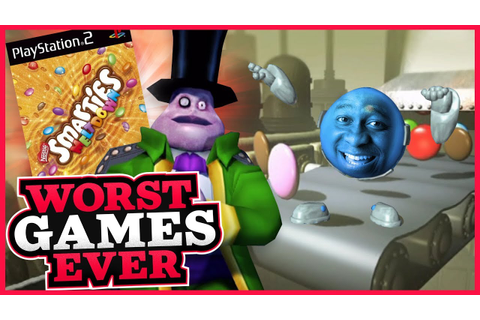 Worst Games Ever - Smarties: Meltdown - YouTube
