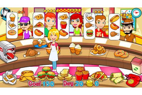 fast food restaurant games | Food