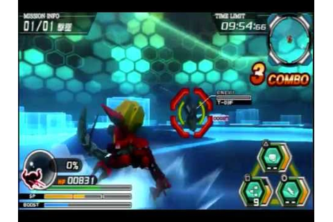 Battle Robot Damashii PSP-Guren Gameplay [Code Geass ...