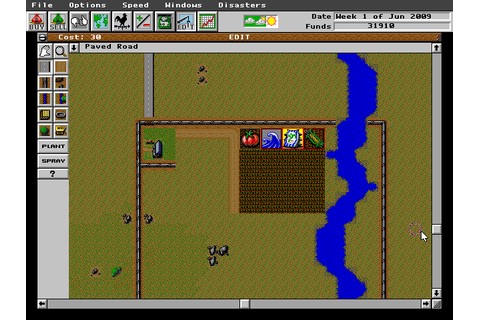 SimFarm (1993) by Maxis MS-DOS game
