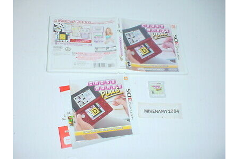 CROSSWORDS PLUS game complete in case w/ manual- Nintendo ...