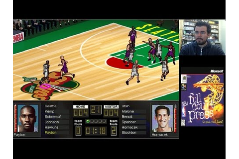 NBA FULL COURT PRESS (PC) - Gameplay en Español - YouTube