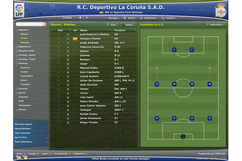 Football Manager 2007 (2006 video game)
