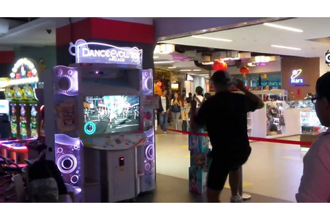 Dance Evolution arcade game Singapore - YouTube