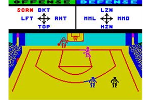 GBA Championship Basketball: Two-on-Two - Sinclair ZX ...