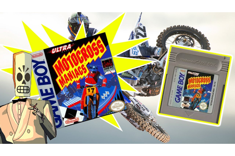 Motocross Maniacs | Game Boy - Retro - YouTube