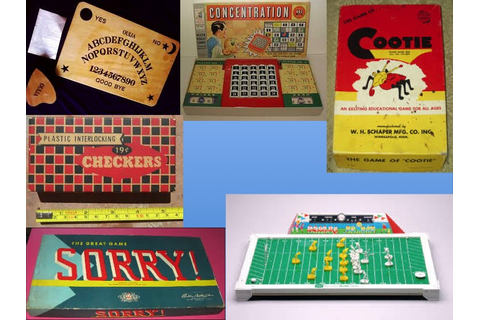 board games | Baby Boomer Reflections