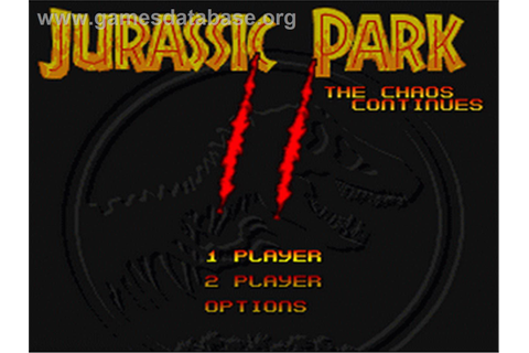 Jurassic Park Part 2: The Chaos Continues - Nintendo SNES ...