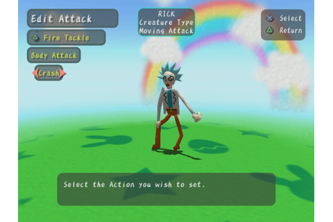 I made Rick in a game called Graffiti Kingdom. In which ...