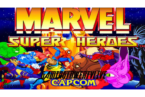 Marvel Super Heroes [PS1] - Gameplay - YouTube