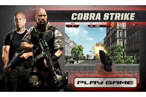 Play G.I. Joe: Retaliation 3D – Cobra Strike – Capsule ...