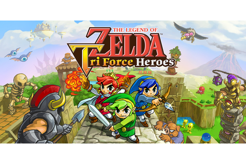 The Legend of Zelda: Tri Force Heroes | Nintendo 3DS ...