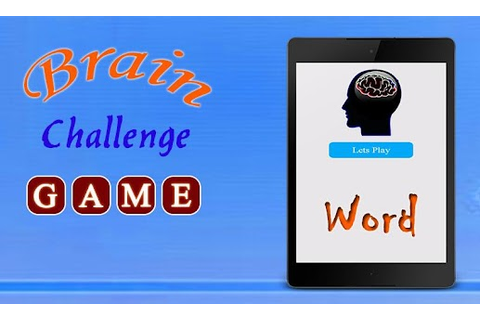 Brain Challenge - Android Apps on Google Play