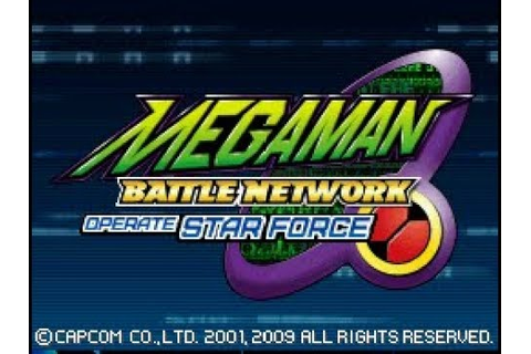 RockMan EXE Operate Shooting Star 100% ENGLISH ROM ...