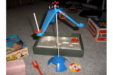 Vintage Nintendo Toys – Slugger Mate, Balance Game and ...