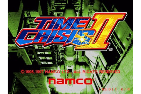 Time Crisis II (1997) by Namco Arcade game