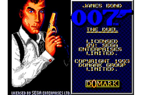 Master System Longplay [094] James Bond 007 - The Duel ...