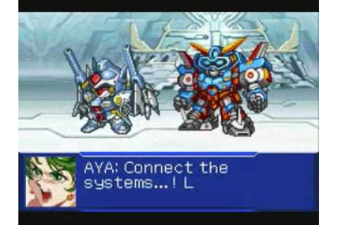 GBA Super Robot Taisen Original Generation 2 Team SRX/R ...