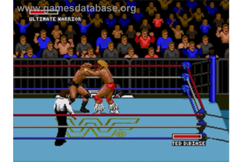WWF Super Wrestlemania - Sega Nomad - Games Database