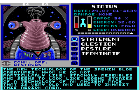 The CRPG Addict: Starflight II: Nonconvergent Evolution