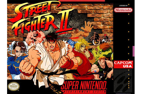 Street Fighter 2 SNESbox cover by Hellstinger64 | FIGHTING ...
