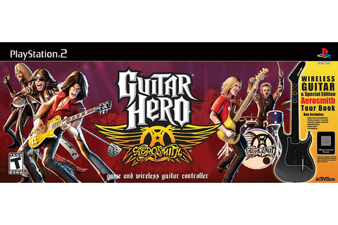 Guitar Hero: Aerosmith Game & Guitar Controller ...