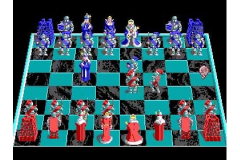 Battle Chess (MS-DOS) - Gameplay - YouTube