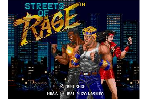 Streets of Rage (Video Game) - TV Tropes