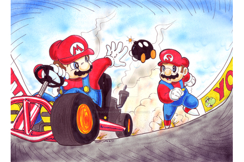 Mario and SOMARI race by SoVeryUnofficial on DeviantArt