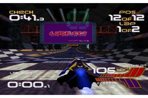 WipEout XL Screenshots for Amiga - MobyGames