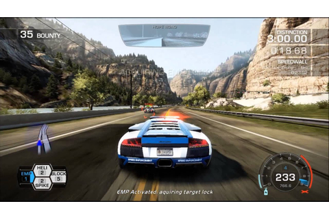 Need For Speed Hot Pursuit Game Play Weapon of Choice ...