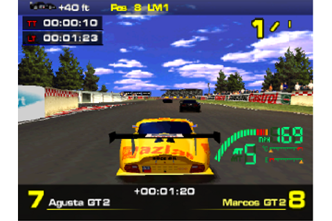 Play Test Drive Le Mans - Le Mans 24 Hours Sony ...