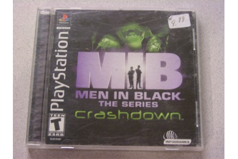 MIB Men in Black -- The Series: Crashdown PLAYSTATION 1 2 ...