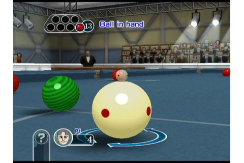 Cue Sports: Snooker Vs Billiards (WiiWare) News, Reviews ...
