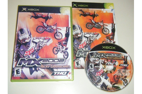 MX 2002 Featuring Ricky Carmichael GAME for your original ...