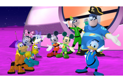 Mickey Mouse Clubhouse Space Adventure TV Show Game ...