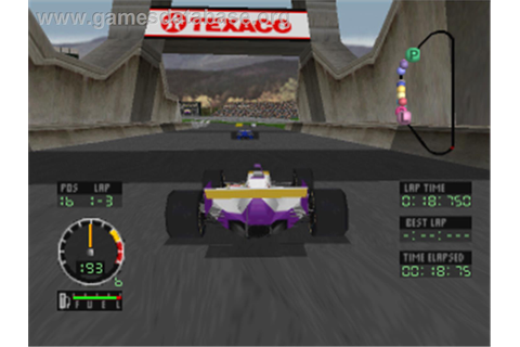 Andretti Racing - Sony Playstation - Games Database