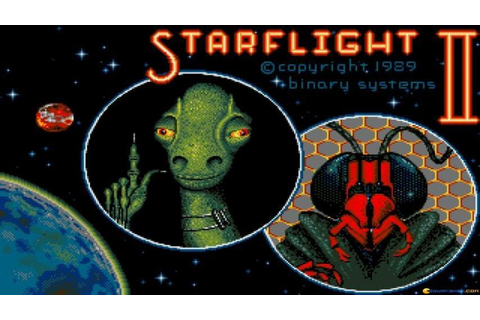 Starflight 2 - Trade Routes of the Cloud Nebula gameplay ...