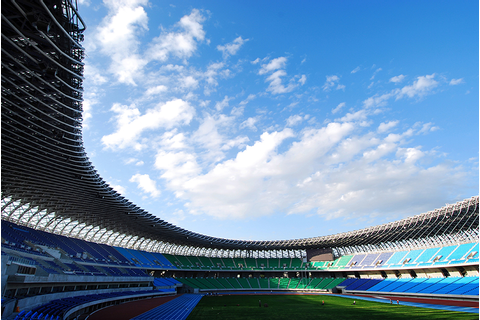 World Games Main Stadium - Taiwan Building - e-architect