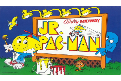 Jr. Pac-Man (Arcade) - YouTube
