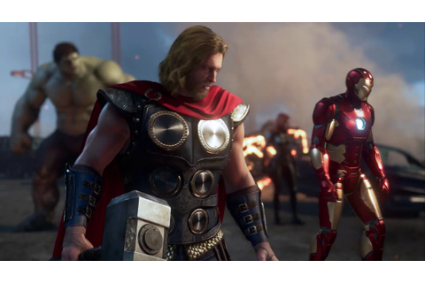 Marvel's Avengers In-Game Trailer - E3 2019 - YouTube