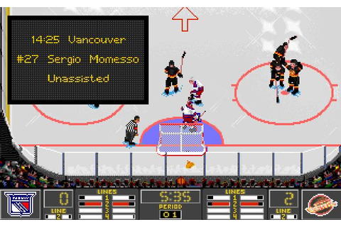 NHL 95 Download (1994 Sports Game)