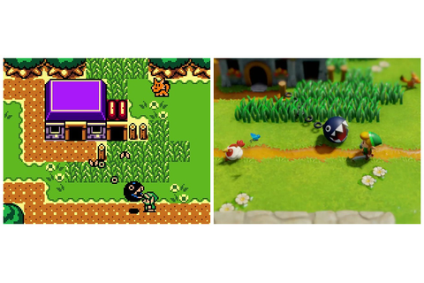 Zelda: Link's Awakening Game Boy / Game Boy Color vs ...