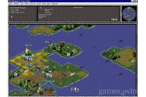 Civilization II Test of Time Download on Games4Win