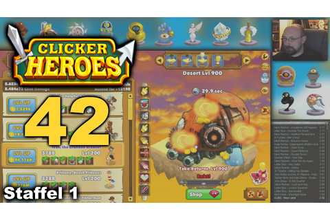 CLICKER HEROES - 42 - Alle meine Ancients - Let's Play ...