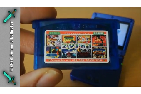 EG011 / Game Boy Advance ++ 29 in 1 ++ GBA Multi Game Card ...