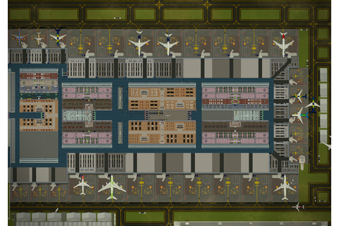 SimAirport - An Airport Simulation Tycoon Game